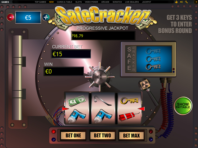 safe cracker im eurogrand casino