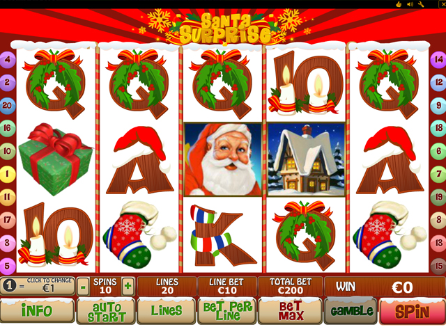 santa surprise online slot im eurogrand casino