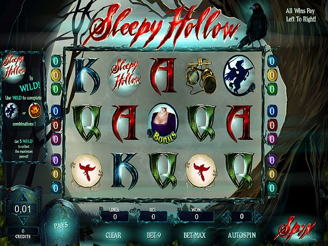Sleepy Hollow spielen