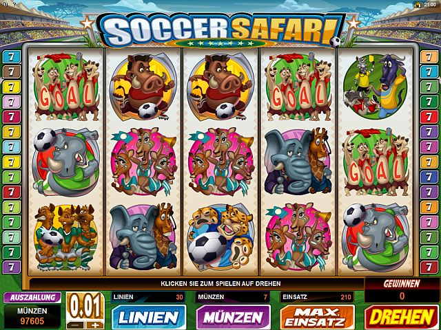 Soccer Safari Slot