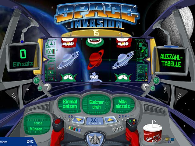 Space Invasion Slot