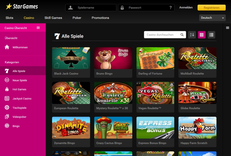 online casino ohne download stars games casino
