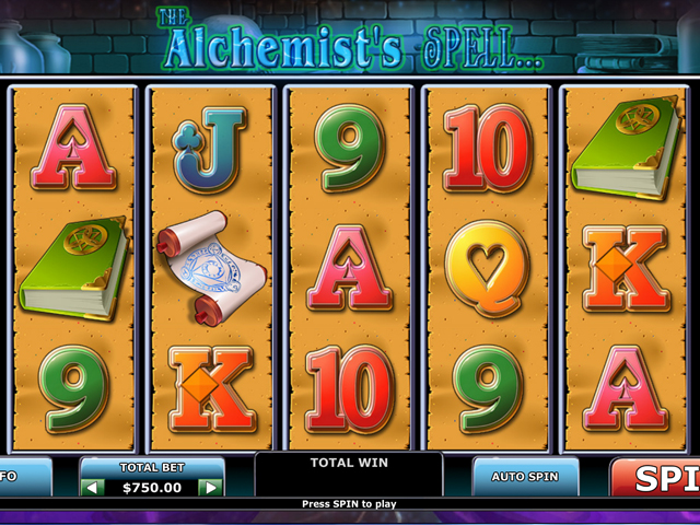 the-alchemists-spell online slot
