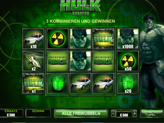 the incredible hulk scratch im winner casino