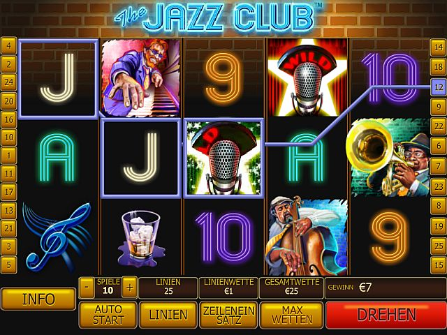 The Jazz Club Spielautomat