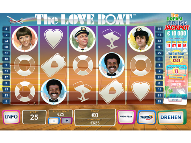 the-love-boat automatenspiel
