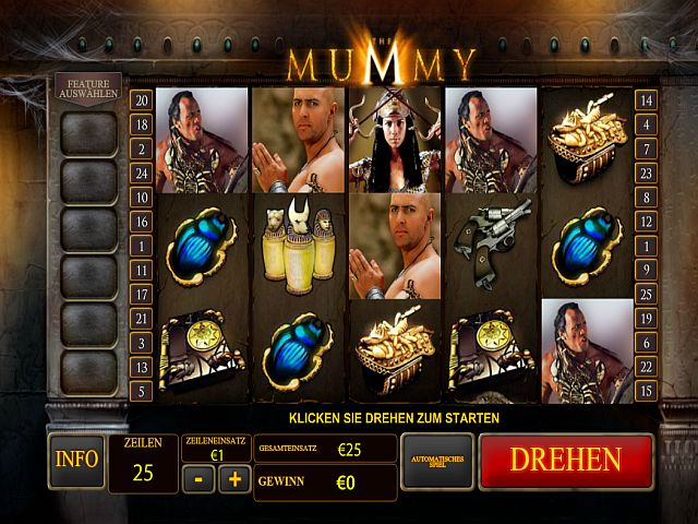The Mummy Spielautomat