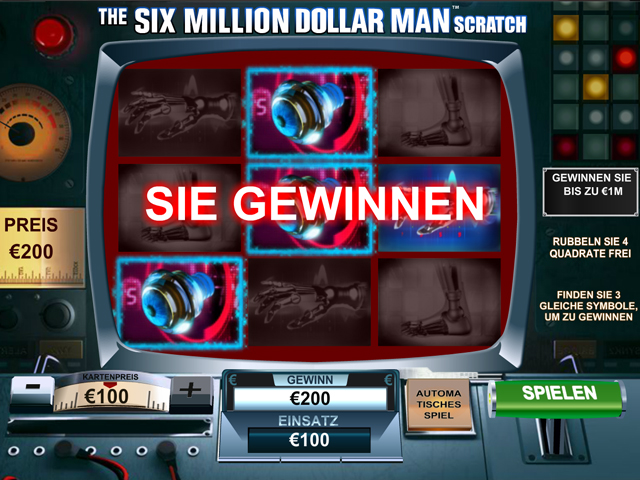 the six million dollar man scratch im winner casino