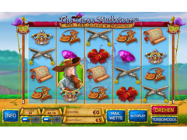 the-three-musketeers online slot