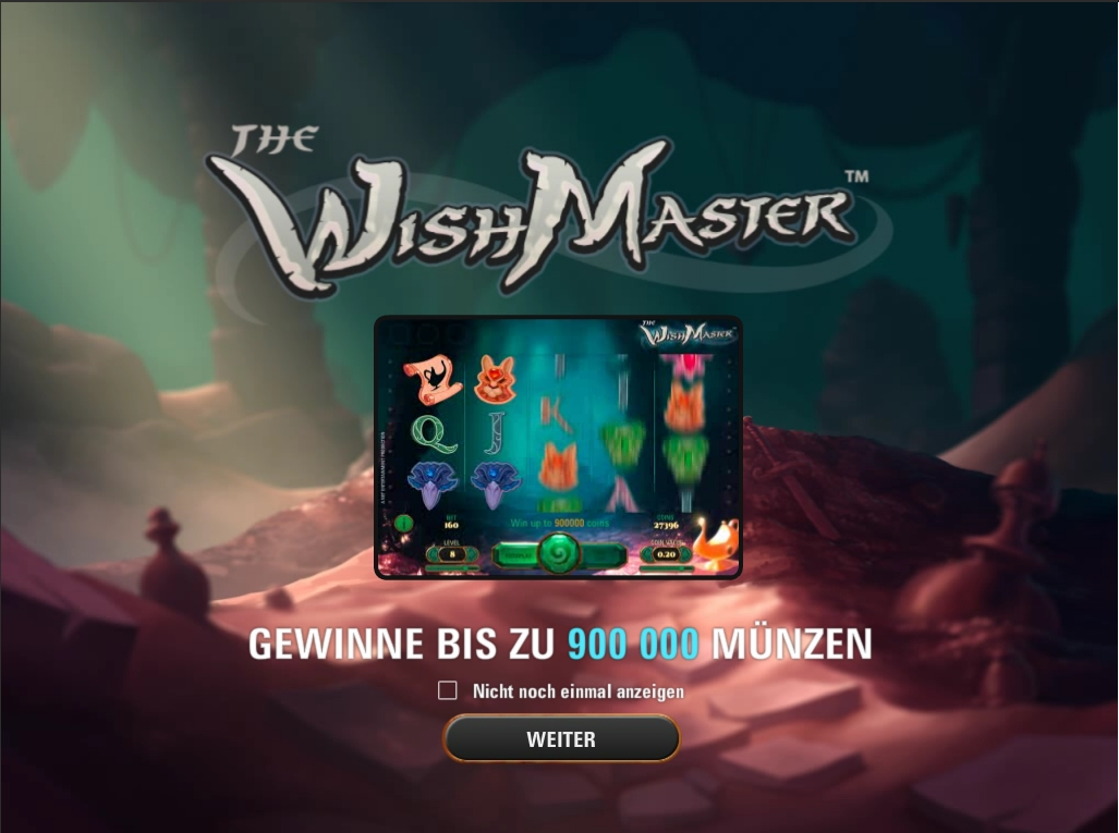 the wish master spielen