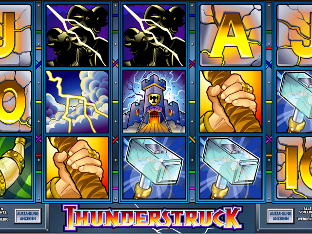 thunderstruck online slot im mr green casino