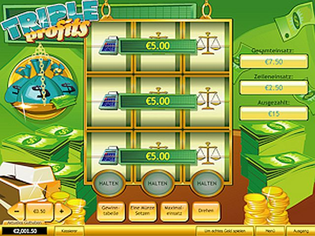 Triple Profits Mulispin Slot