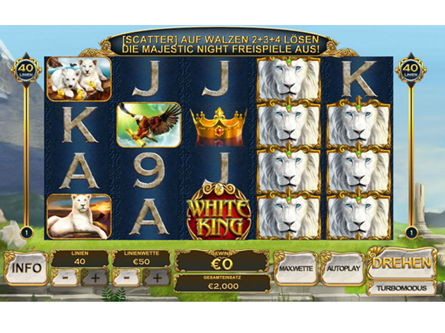 white-king automatenspiel