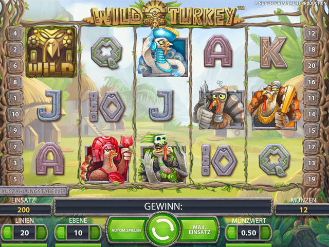 wild turkey online automatenspiel im mr green casino