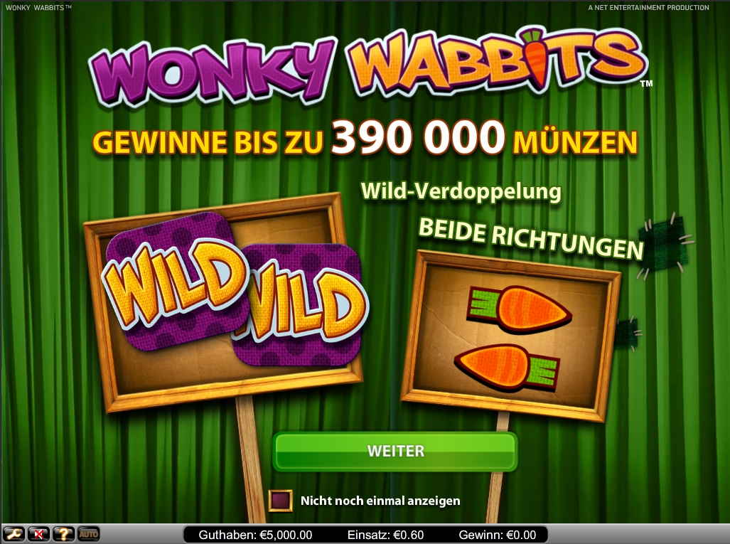 Play Wonky Wabbits for free Online | OVO Casino