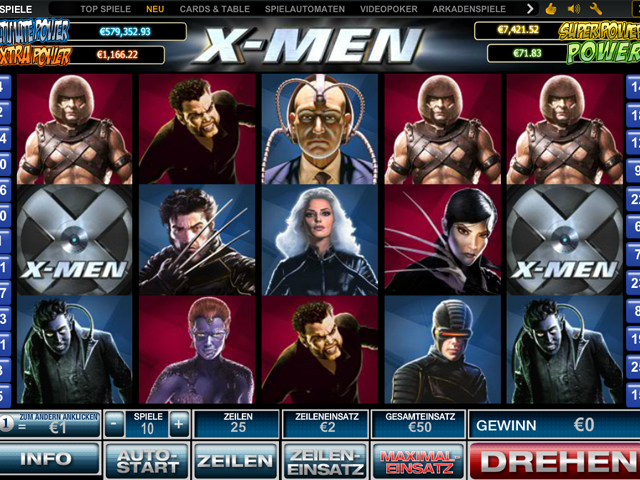 x men online slot im eurogrand casino