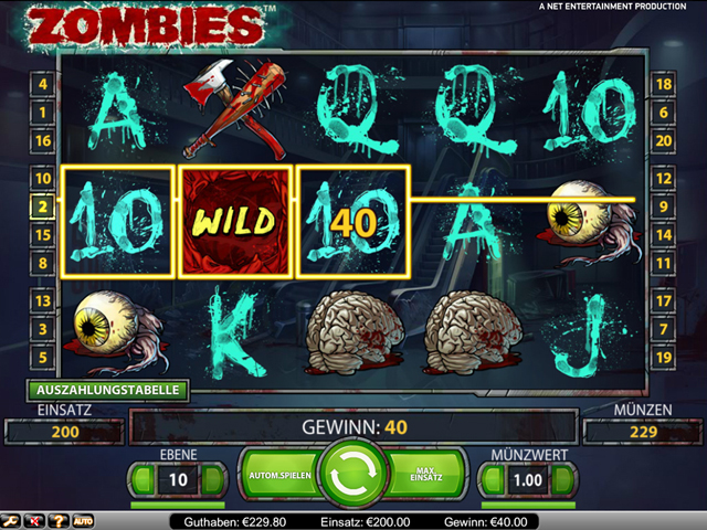 zombies automatenspiel im mr green casino